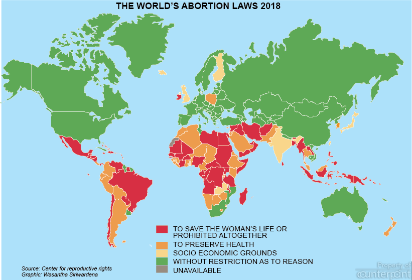 abortion map