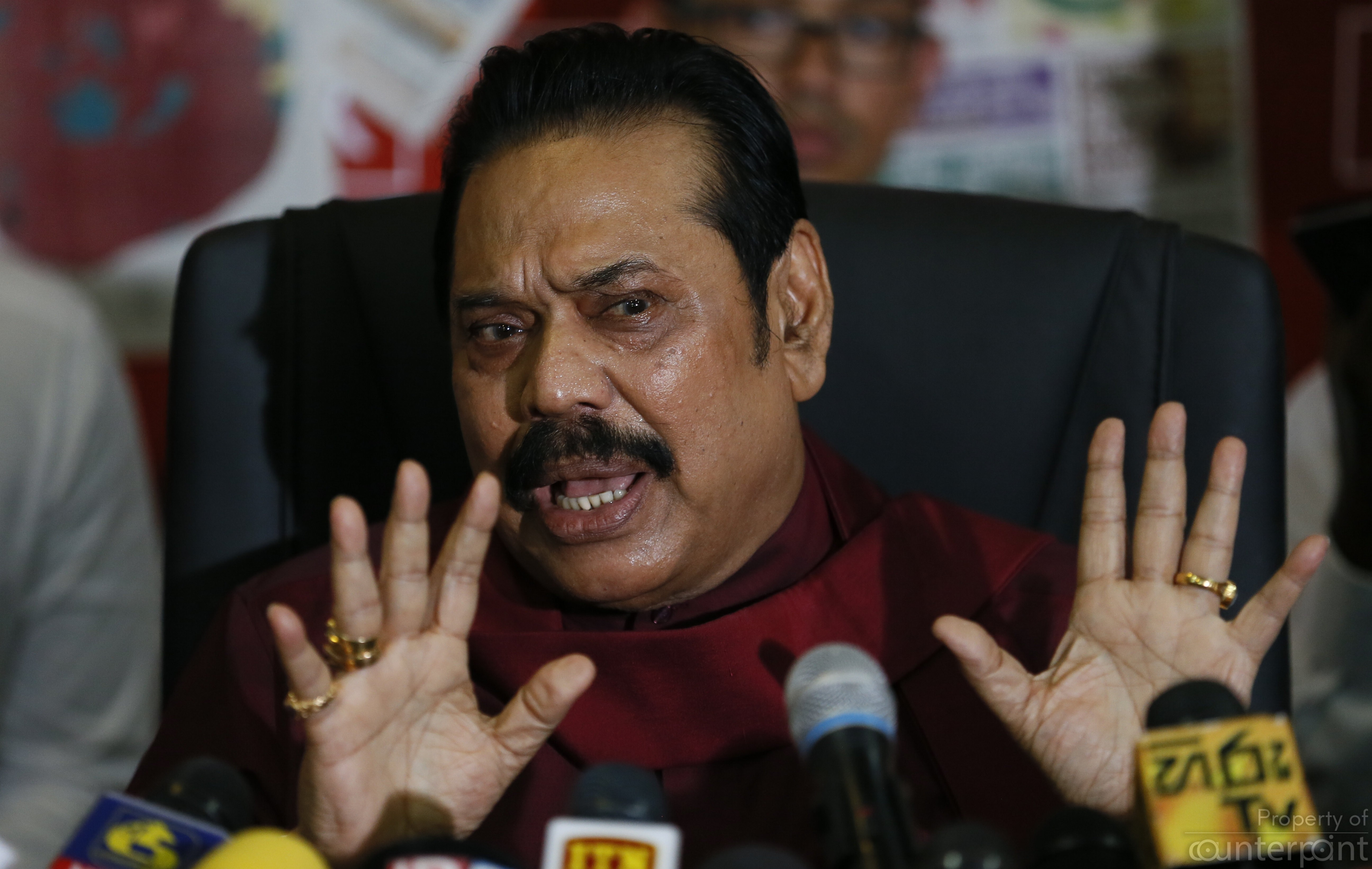 Despite being the most popular politician in the country, Mahinda Rajapaksa cannot be President again, following the 19th Amendment.