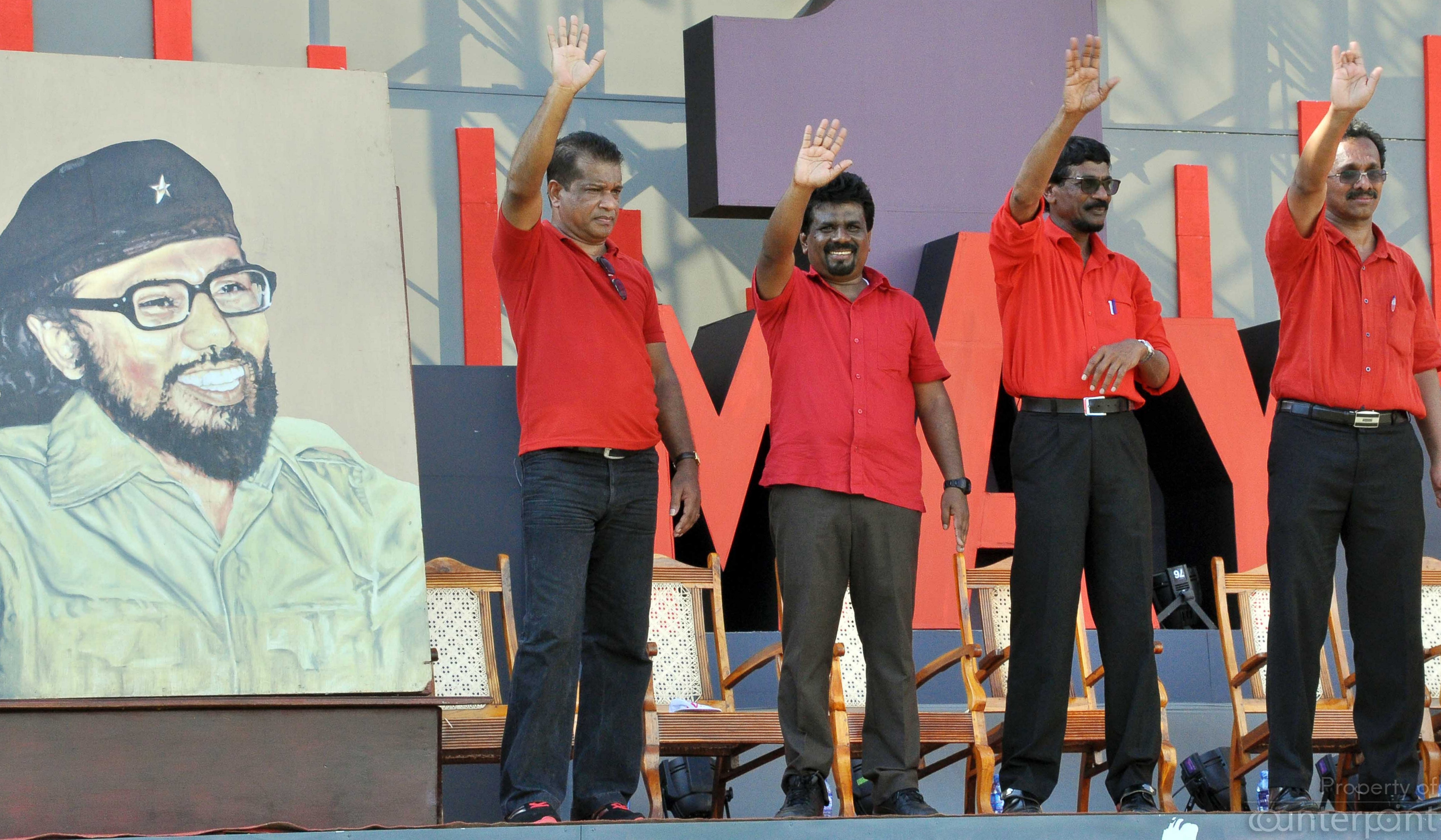 The JVP plans to canvass all political forces, to win support for their bid to abolish the Executive Presidency through the 20th Amendment.
