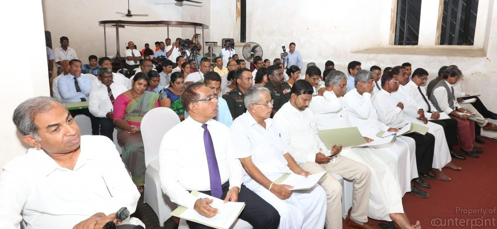 Prime Minister Ranil Wickremasinghe met with government officials recently to discuss plans to move their offices out of the Galle Fort. We seem to be spending more time and money in such efforts instead of introducing and upholding strict professional standards that would ensure public servants deliver services efficiently.