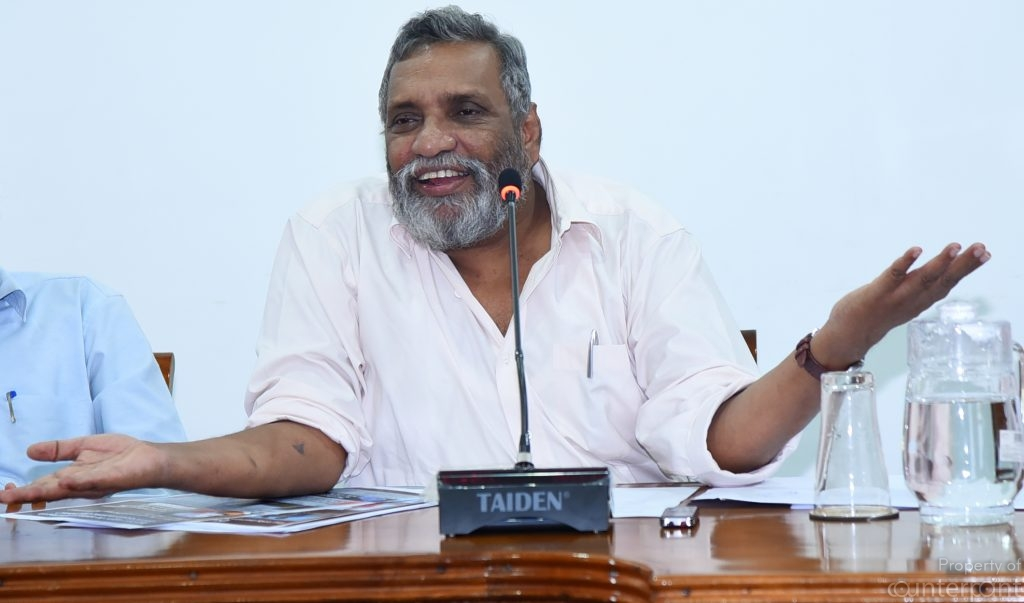 The chairman of the elections commission Mahinda Deshapriya became folk hero after his tough talking stance during the 2015 presidential election. Even he seems fed up with the gerrymandering of elections by the yahapalanaya government.