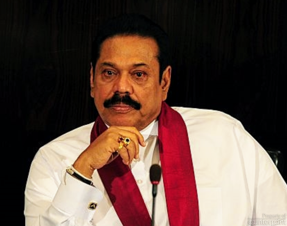Allegations of widespread corruption by his extended family seriously undermined Mahinda Rajapaksa's popularity in his second term.