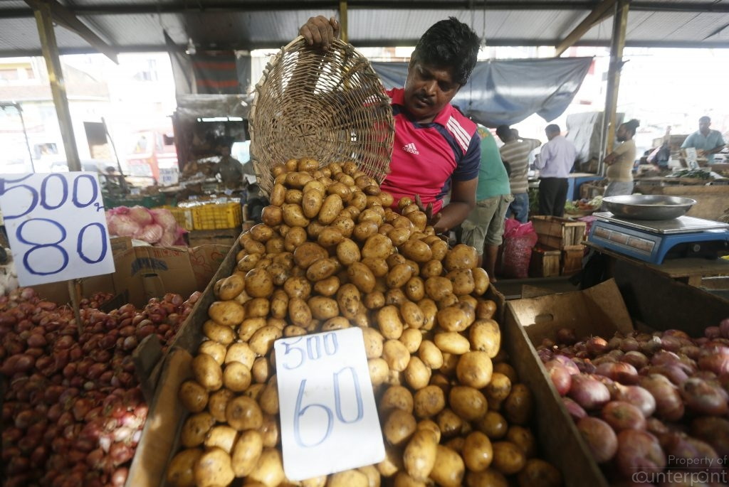 These potatoes will cost more. The depreciation of the rupee is part of a new monitory policy strategy. But it leads to increases in prices of commodities.