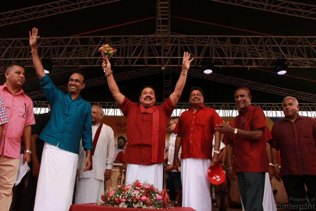 The stunning results of the local government election of February 2018 propelled Mahinda Rajapaksa back into the centre stage.