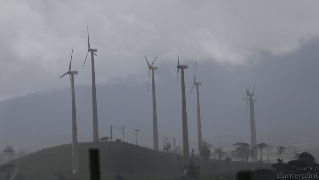 These wind turbines are the exception to the rule: High officials of the CEB seem to be doing everything possible to block the rapid expansion of this cheap source of power.