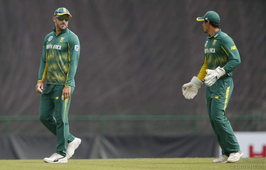 South Africa's captain Faf du Plessis injured himself in the 3rd one day international handing over the captaincy to Quinton de Kock. That also ended South Africa's winning streak in one Day Internationals against Sri Lanka.