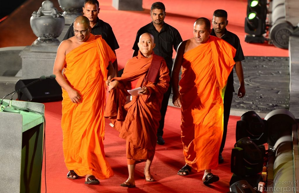 Myanmar's Ashin Wiratu, was a guest of the BBS in September 2014, when he attended their convention. Ashin Wiratu is well known for sermons against non-Buddhists, particularly the Muslims.