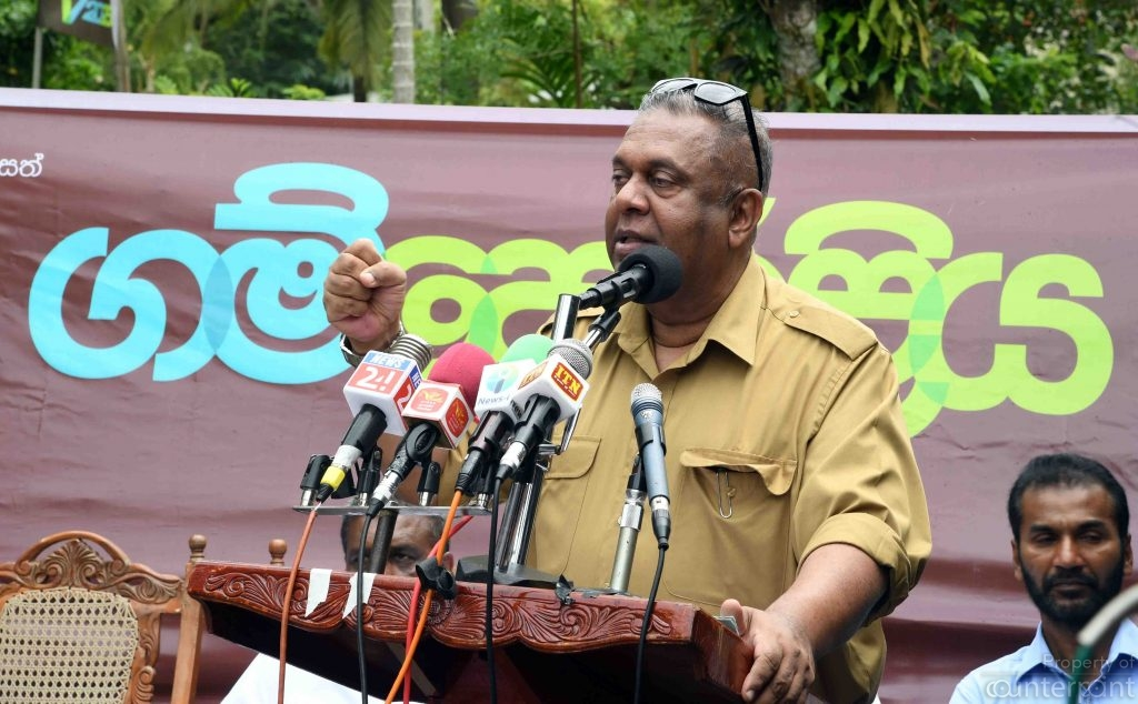 Finance Minister Mangala Samaraweera's economic revival projects are being overshadowed by other controversies, mainly an IGP acting like one gone mad.