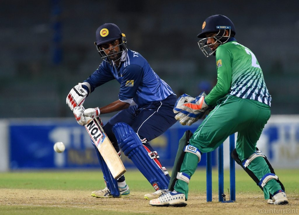 Opener Upul Tharanga was in explosive form during the hastily arranged domestic T-20 tournament.