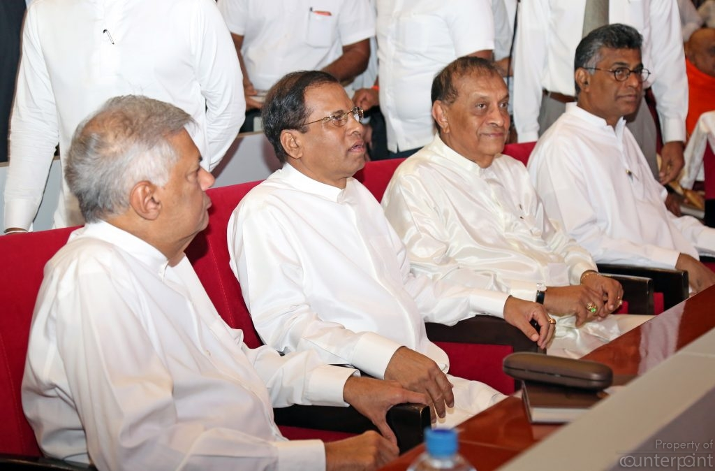 Friction in the Yahapalanaya government appears to be reaching a breaking point as a desperate President Sirisena tries to map out a political future for himself.