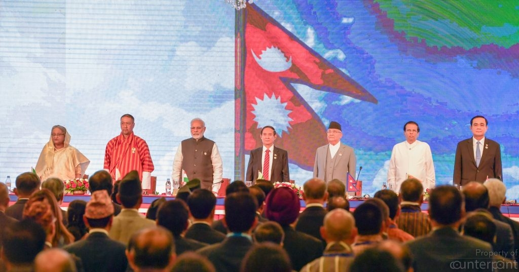 President Sirisena and other regional leaders at the recently concluded BIMSTEC meeting. Regionalism is helping some countries in improving international economic arrangements.