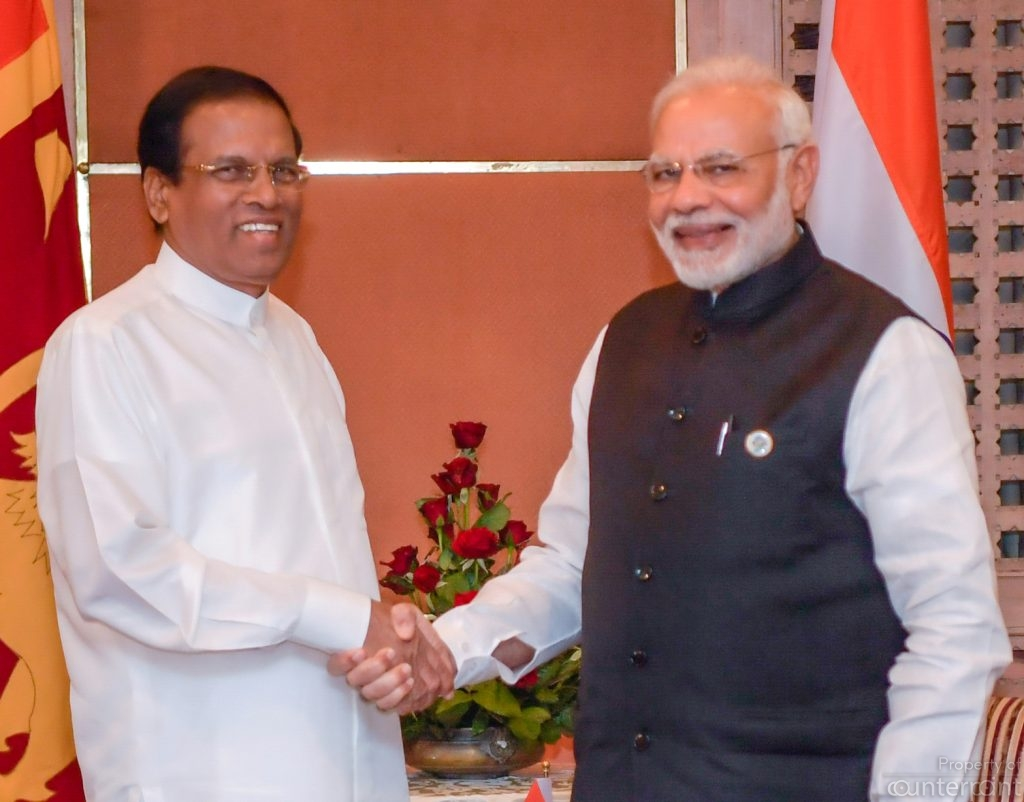 President Sirisena met Indian Prime Minister Narendra Modi in Nepal recently. Media reports on the eve of Prime Minister Wickremesinghe's visit to India, that the former accused India's RAW agents of plotting to kill him, resulted in a flurry of damage control activity by the Presidents office.