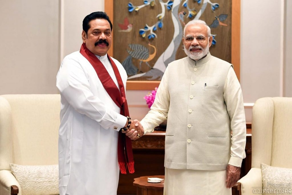 India's Prime Minister Narendra Modi was the first to congratulate PM Rajapaksa on his appointment.