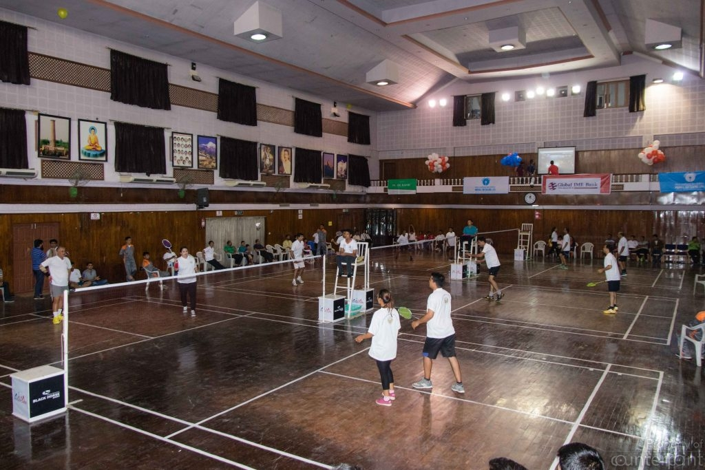 SAARC Friendship Badminton Competition held in 2017 (Picture Courtesy SAARC website)