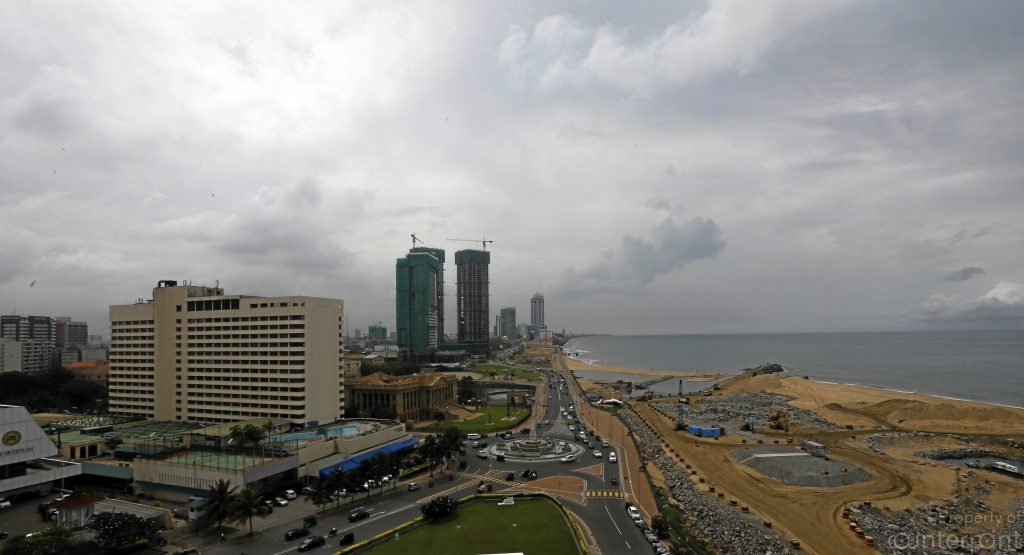 A good chunk of Galle Face Green is being converted to a Port City by the Chinese.