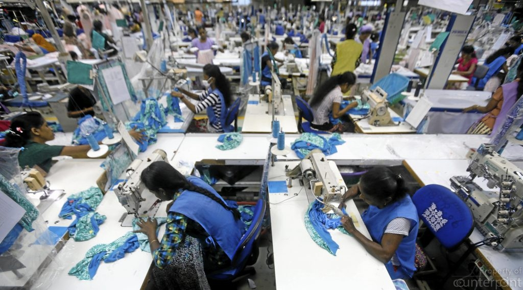 The Garment trade has been an important foreign exchange earner for Sri Lanka. However, the country has not diversified enough on the economic front and now lags behind many Asian nations in trade.