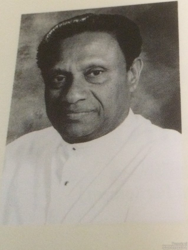 Ranasinghe Premadasa became the second Executive President, an all-powerful position allowing the holder of the post to rule with an iron fist. In 1991, there was an attempt to impeach Premadasa. ( Picture courtesy 'Parliament of Sri Lanka, Asia's Oldest Democracy')
