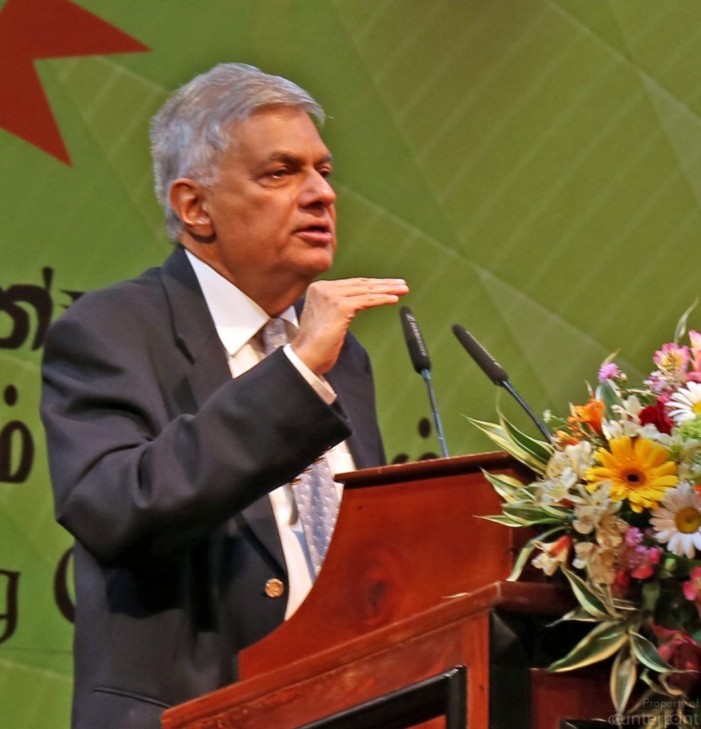 Current Prime Minister Ranil Wickremesinghe. The all-powerful Executive Presidency has always been just beyond his reach. And with attempts to abolish it now, that position will, for him, be all but a dream.