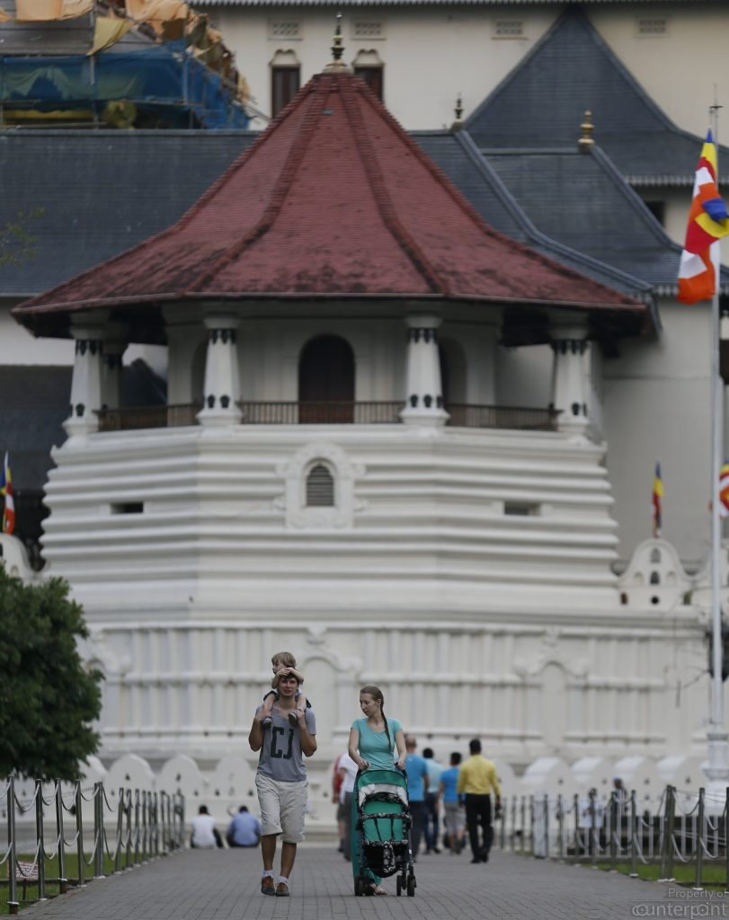 A visit to the Temple of the Tooth Relic is a must for tourists.