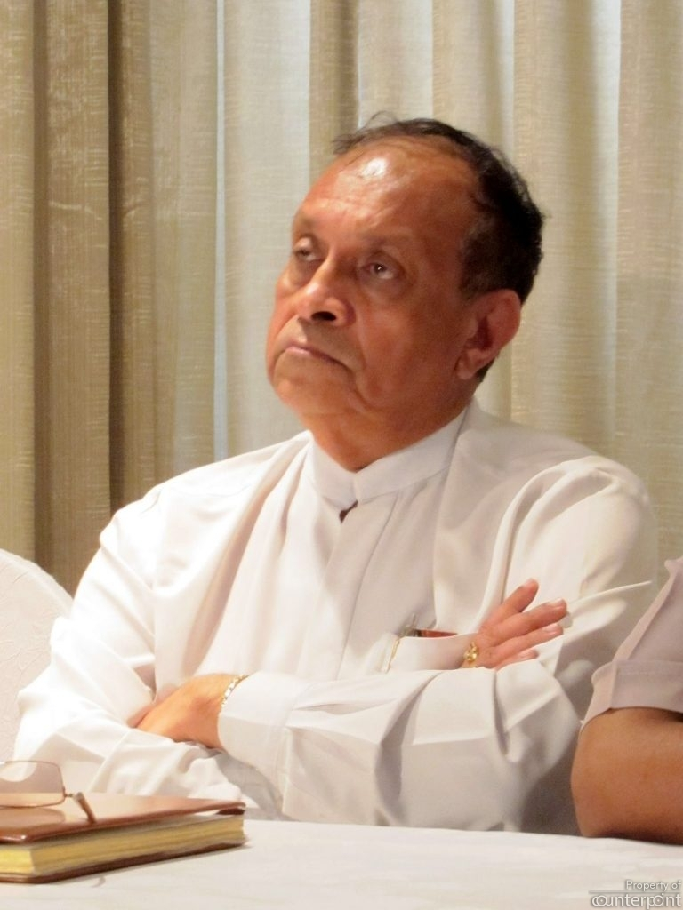 Did the defeat in Parliament last week of the expenditure heads of two ministries come about because one of the Minister's praised Speaker Karu Jayasuriya, angering the PM's loyalists?