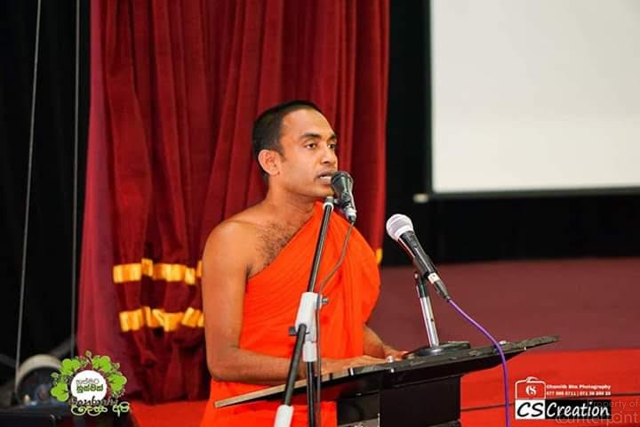 Ven. Wekadawela Rahula Thera states there is a mismatch between religious philosophy and religious practice.