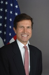 Former US Ambassador to Sri Lanka Robert O'Blake ( courtesy en.wikepedia.org)