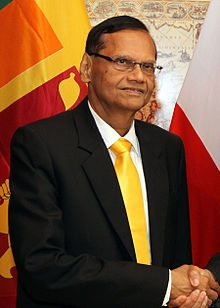 G.L Pieris, Chairman SLPP ( courtesy en.wikepedia.org)