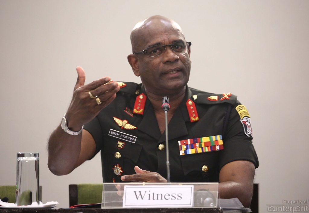 Army Commander Mahesh Senanayake warns that the possibility of another terrorist attack is not over.