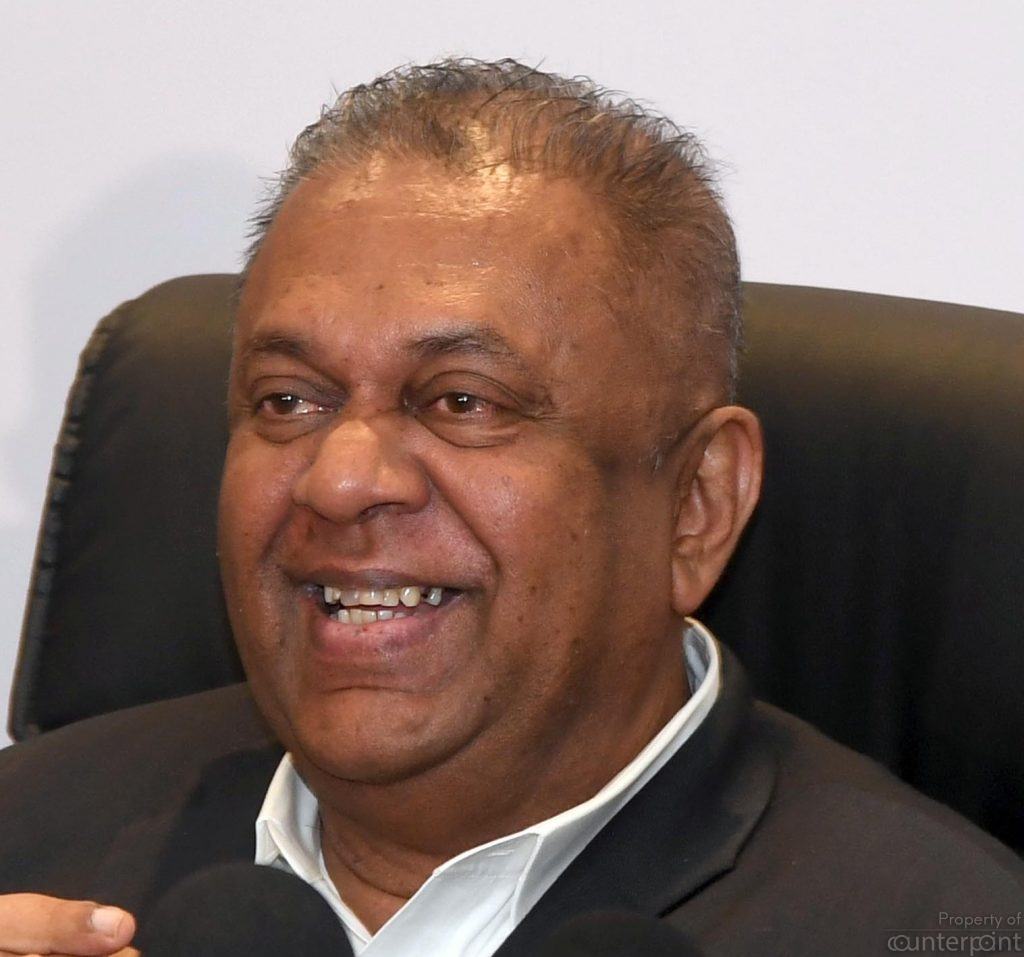 Finance Minister Mangala Samaraweera seems to be backing Sajith Premadasa. Will Samaraweera be Premadasa's running mate?