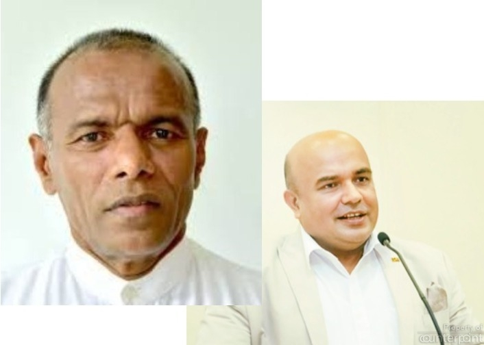 There are many outside the political field who have presidential aspirations, amongst them, Naganada Kodituwakku (right) and Rohan Pallewatte (right).
