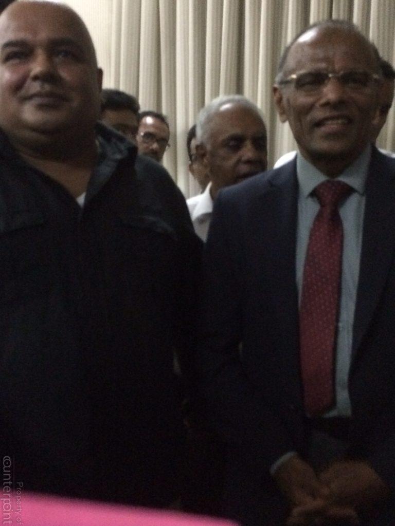 Dr. Rohan Pallewatte(left) and Mr. Nagananda Kodituwakku (right) are both presidential hopefuls.