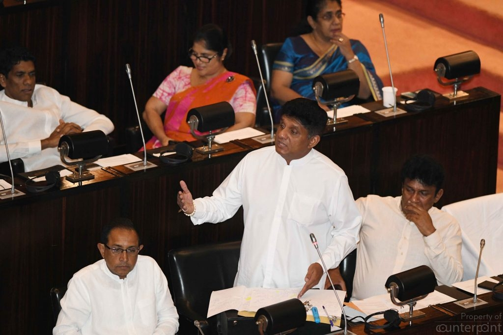 UNP Deputy Leader, Sajith Premadasa launched his presidential campaign, even though he is yet to be named the candidate.