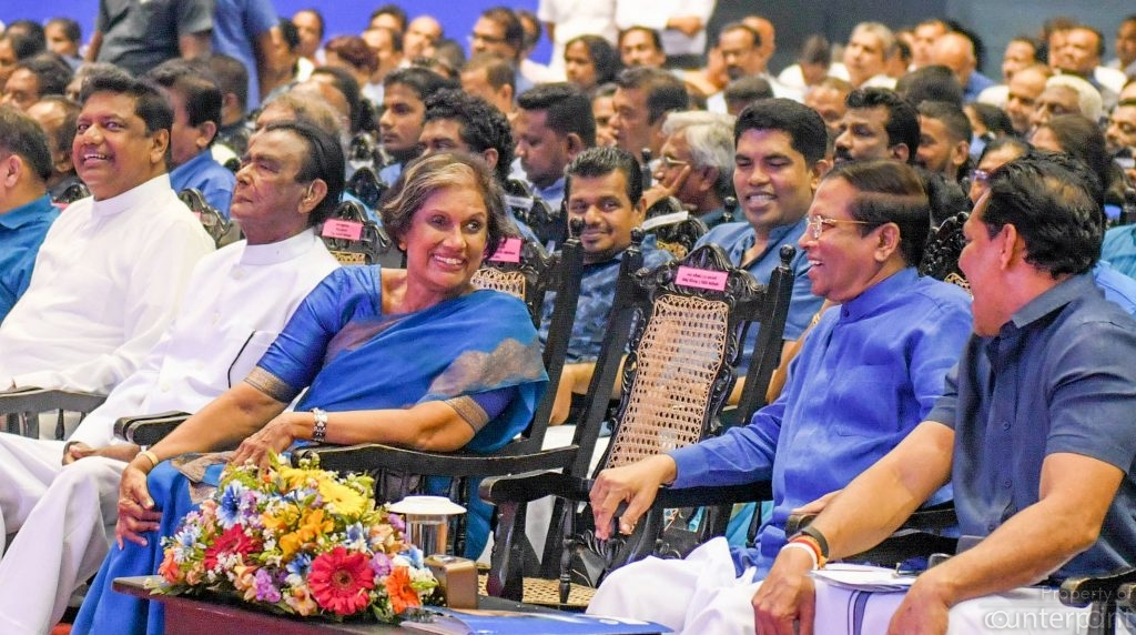 Former President Chandrika Kumaraatunga bides her time to wrest control of the SLFP from President Maithripala Sirisena.