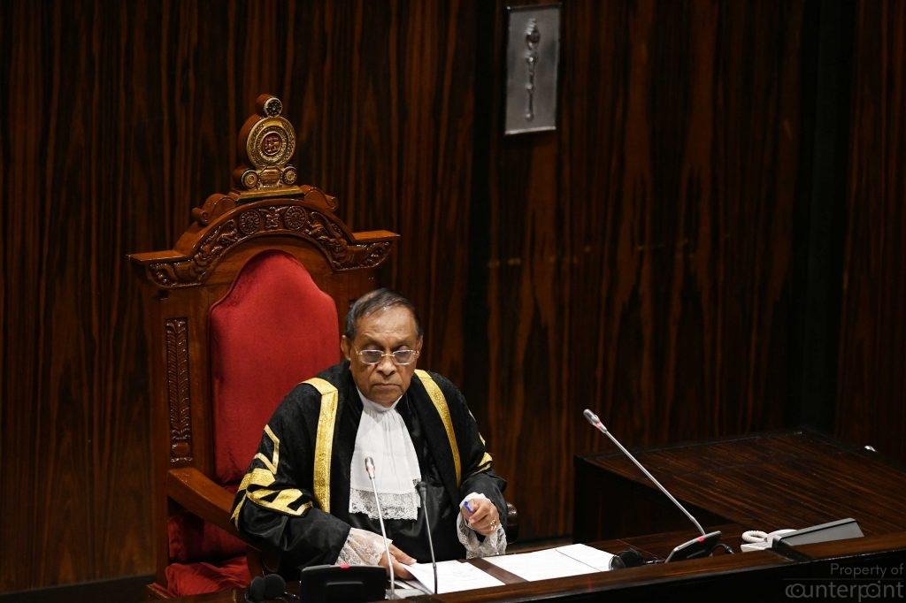 Speaker Karu Jayasuriya, another presidential aspirant, has been preparing for his campaign behind the scenes.