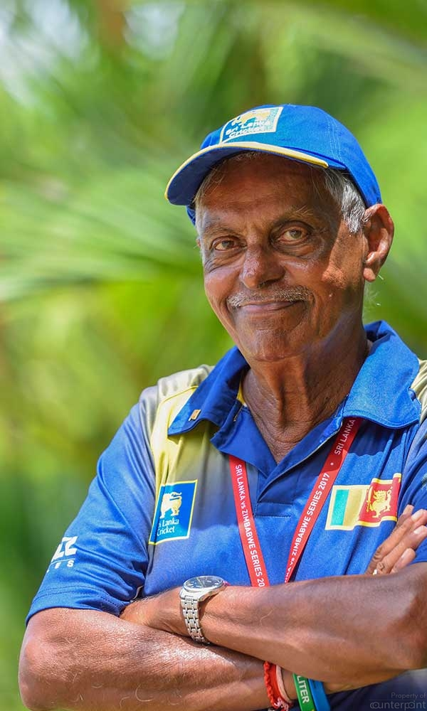 India's Mohammed Azharuddin, once had Percy Abeysekara (seen here), Sri Lanka cricket's cheerleader banned from entering the playing field.  (Courtesy percyabeysekera.com)