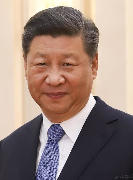 Chinese President Xi Jinping made no bones about how his country would deal with any one who attempts to interfere with their internal matters. (photo courtesy Wikipedia)