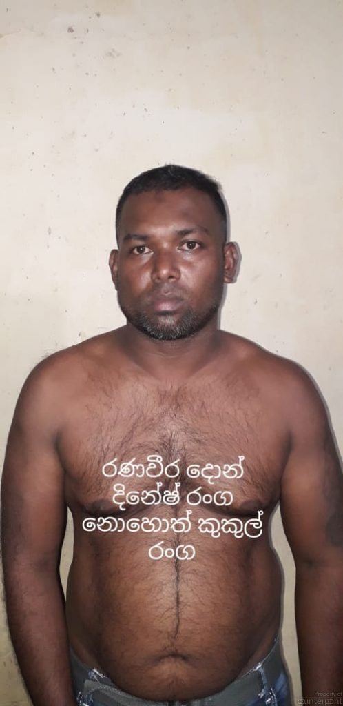 Ranga, known as Aanamalu Ranga was killed recently at the Madampitiya cemetary.