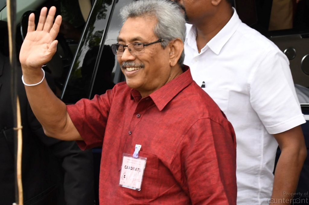 Presidential hopeful Gotabaya Rajapksa, unlike his brothers has had a close rapport with Sirisena