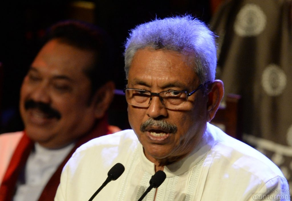 President Gotabaya Rajapaksa is keen to showcase a different form of governance from his brother, former President and current Prime Minister Mahinda Rajapaksa, under whom, government expenditure was unbridled.