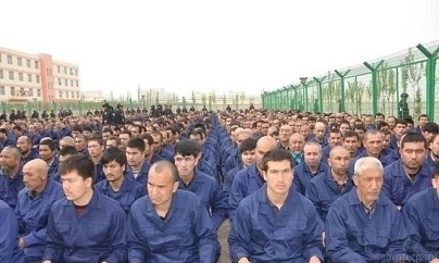 Thousands of China's Uighur Muslims are reported to be interred in the Xinjiang re-education camps. (Courtesy Wikepedia org.)