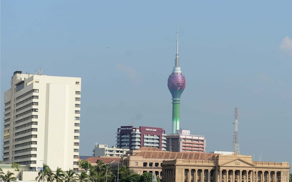 Could the Lotus Tower in Colombo become a tourist attraction?