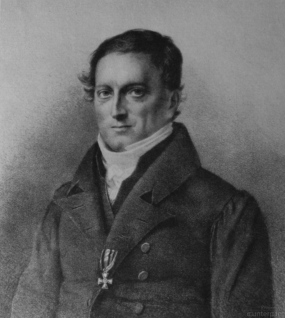 Johann Herbart believed that learning outcomes were based on a student's interest in the topic. (Courtesy Wikimedia Commons)