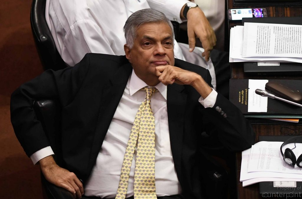Despite the many moves to oust him from the post of Party Leader, Ranil Wickremesinghe remains unfazed